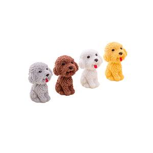 Dog Borrachas dos desenhos animados de borracha Eraser animal Eraser novidade papelaria fontes de escola Atacado