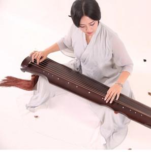 Fuxi Style Old Tongmu Guqin Professional Playing Beginner