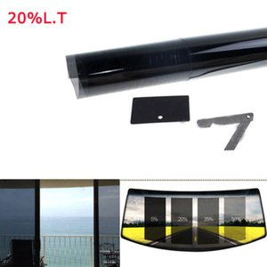 "2PLY 20% VLT 20"" x 10 Feet Roll Window Tint Film or Car Home Office Tinting Tint"
