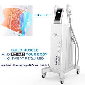 2020 Dernières EMSculpt Muscle Stimulator EMSlim EMS Fat Burning machine 7 Tesla Focalisés de Haute Intensité HIFEM ABS Minceur machine