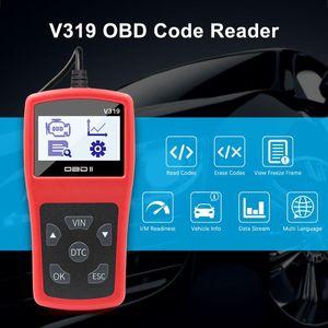 OBD2 V319 Voll OBD 2 V1.5 Maschinen-Codeleser Creader OBDII Auto-Selbstdiagnosewerkzeug obd2 Automobilscanner ELM327