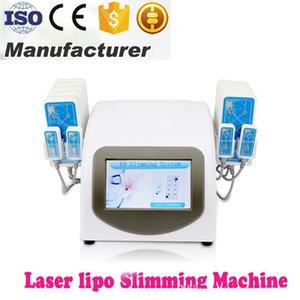 Machine de laser de lipolyse de réduction de perte de poids de laser de Lipo de retrait de cellulites de diode de retrait de cellulites de 160 protecteurs 160mw 650nm