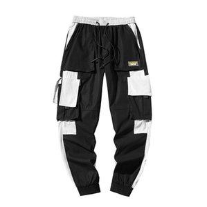 Nouveau Hip Hop Streetwear multi hommes poches Pantalon cargo Harem Pantalons simple Homme piste Joggers Pantalons Mode Hommes Harajuku
