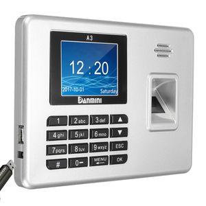 Danmini 2.8inch TFT biométrico de impressão digital comparecimento Senha de Acesso Time Clock