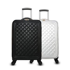 Дизайнер - Кожаная маленькая ручная кладь для багажа ручной клади 20-дюймовый чемодан для путешествий