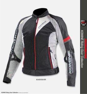 New KOMINE JK098 Respirant Racing Grille Racing High Performance Chute épreuve Vêtements Mototourisme Veste 2