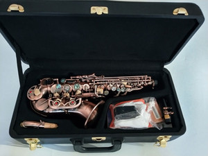 New brand Yanagisawa S-991 High-quality New curved Soprano Saxophone Bb music instrument Soprano Saxophone Professional