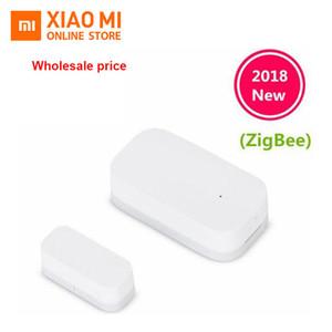 100% original caliente Xiaomi Aqara puerta Smart Connection puerta ventana del sensor inalámbrico ZigBee sensor de control con el trabajo de Android iOS