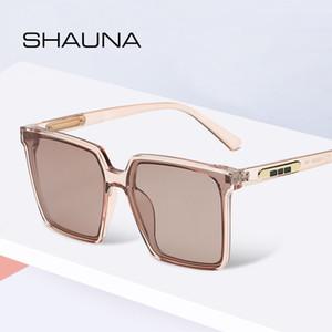 Shauna HD polarizados Oversize Praça Sunglasses