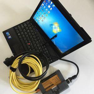Para BMW Icom A2 + B + C con V08 / 2020 Soft-ware INTA ISTA ETK en disco duro y X201t ordenador portátil usado para BMW Herramienta de diagnóstico de Icom
