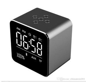 V9 Мини Bluetooth Динамики FM-радио с Time ЖК-дисплей Будильник Беспроводная стерео Сабвуфер автомобильный MP3-плеер Обновление A9 Speaker