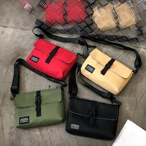 Designer-Handtaschen-heißen Verkauf-Solid Color Fashion Unisex Messenger Bag Oxford Cloth Schultertasche Große Kapazität Handtasche mit Reißverschluss Reisen