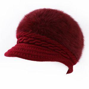 Lana Mujeres Boina Otoño Invierno Octagonal Gorra Sombreros Artista con estilo Pintor Vendedor de periódicos Gorras Negro Gris Boina sombreros