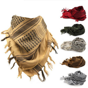 Cotton Thick Muslim Hijab Shemagh Tactical Desert Arabic Scarves Men or Women Winter Windy Windproof Scarf