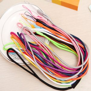 5-10PCS long Nylon Lanyard Cell Phone Hanging Strap Mobile Phone Datachable Neck Straps Flexible Sling Necklace Rope