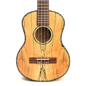 """Alta Qualidade 23"""" tenor madeira maciça completa podre Madeira 4 Cordas ukulele mini-pequeno Hawaii violão ukelele guitarra Uke Concert"""