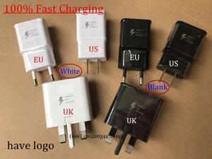DHL Original 9V-1.67 A 5V 2A US / EU/UK Plug Fast Charging Travel adapter настенное быстрое зарядное устройство для S6 S7 S8 S9 plus Примечание 5 8 Белый Черный