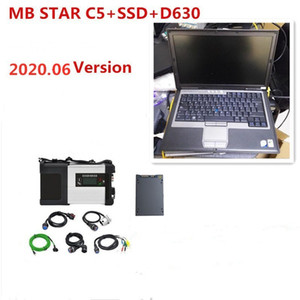 MB Star C5 SD Connect 360GB diagnostic voiture C5 SSD mb étoile C5 D630 utilisé pour ordinateur portable 2020.06V-soft ware vediamo / Xentry / DAS