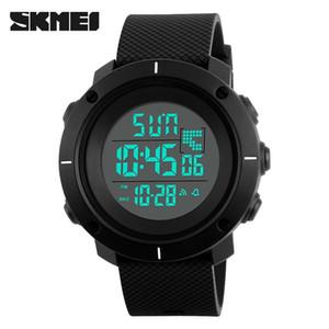 야외 스포츠 빅 1213 디지털 손목 시계 남성 다기능 크로노 그래프 (5) 바 방수 알람 시계 디지털 시계 Reloj 험 브레 다이얼