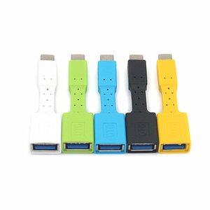Type-C OTG Adapter Cable Plastic Rubber Soft Type c to USB 2.0 Cellphone Game Keyboard Mouse Connector Cable