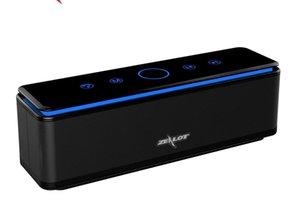 ZEALOT S7 Haut-parleur portable Bluetooth puissant caisson de basses Hifi Home Cinéma Haut-parleurs sans fil, Banque d'alimentation Carte TF de soutien 8000 mAh