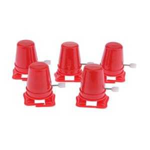 5x Глина DIY Руководства Heading Machine для Mini House Robots