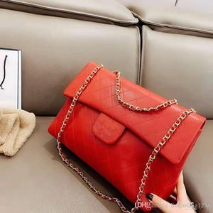 Vogue of New Fund of Real Leather Oblique Satchel Female Baotou Layer Cowhide Ling Chain Single Women Shoulder Bags Luxury Women Handbags