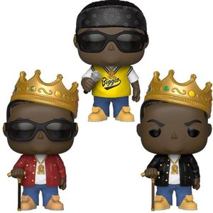 Kawaii Funko Pop Mr Biggie Vinyl Action Figures With Box #77 78 Popular Toy Gift FOR KIDS
