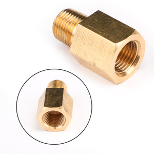 Areourshop Car 1 8 NPT Female To 1 8 BSPT Male Adapter Gauge Sensor Thread Oil Pressure Adapter Car Auto accessories Parts