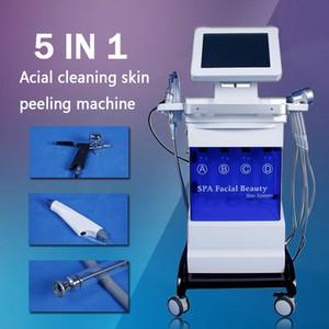 2020 Hydra Facial Oxygen Spray Gun Hydro Dermabrasion Photon Led Light Therapy Machine Подтяжка Кожи / Уход За Кожей Лица/ Омоложение Кожи