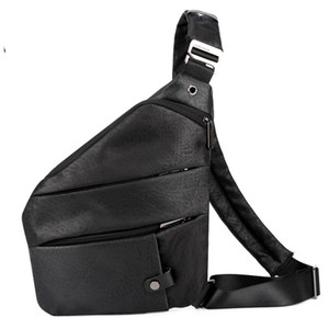 Mens digitale sacchetti di immagazzinaggio Mezzo Borse Maschio Trend Petto Bag in tessuto Oxford a tracolla sportiva Pockets multifunzionale Spalla Personal Anti-Theft