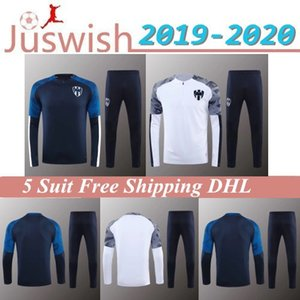 19 20 몬테레이 운동복 축구 자켓 D.PABON R.FUNES MORI 축구 셔츠 2019 2020 몬테레이 훈련 한 벌은 크기 축구 자켓 남성을 입는다