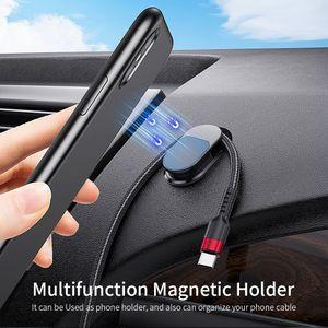 suministros fuertes 3M pegamento son versátiles y creativos soporte magnético del teléfono del coche para el sostenedor del teléfono móvil del GPS Mount Magnet la ayuda del soporte