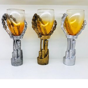 New 3D Mechanics Paws Goblet Household Whisky Beer Glass Bar Personality Wine Glass Super Fashion Wine Cup Best Friend Gifts