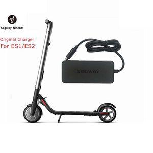Оригинальные комплекты Ninebot зарядное устройство для Kickscooter ЕС1 ЕЅ2 42В 71ВТ аккумулятор подключите блок питания для Hoverboard электрический скутер
