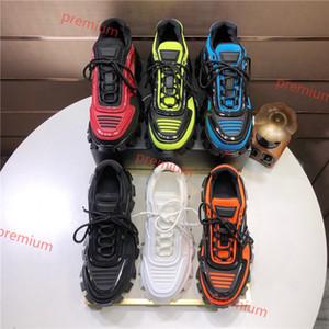 Prada 2020 Hococal Hommes Low Top Chaussures Casual Lates P Cloudbust de Thunder Derbies Designer série de capsules 19FW baskets plate-forme de correspondance des couleurs