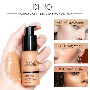 Soft Matte Light Cream Long Lasting Liquid Face Foundation Makeup Coverage Foundation Natural Oil Control Cosmetics Free Shipping U1001