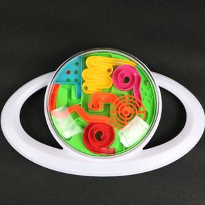 3D Rundgriff Control Maze Ball Kunststoff Ball Maze Marmor Puzzle Spiel Verbessern Sie die Balance Balance Fähigkeit IQ Pädagogisches Geschenk