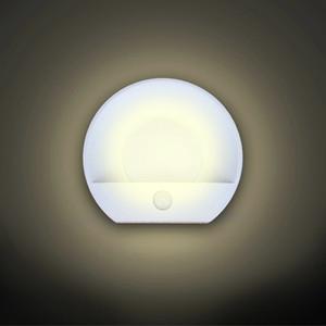 Carregador USB Night Light Duplo Indução Wall Lamp infravermelho do corpo humano indução Sensor de Movimento Dusk Sensor