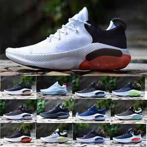 Nike ODYSSEY RECT SHIELD Moda Üst Kalite Ucuz Joyride Run ODYSSEY RECT SHIELD Erkekler Üçlü Siyah Beyaz Platin Ton Üniversitesi Kırmızı Açık Ayakkabı Koşu