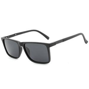 HDCRAFTER marchio 2019 nuovo alluminio-magnesio moda colore pellicola occhiali da sole classici occhiali da sole polarizzati da uomo E015