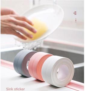 Tape Caulk Strip, PVC Self Adhesive Caulking Sealing Tape for Kitchen Sink Toilet Bathroom Shower and Bathtub, (3.8cm * 1m)