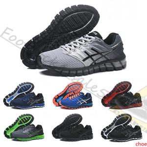 Mens 2019 NOVO Gel-Quantum 360 2 2s Espinha Running Shoes Red Grey triplos pretos brancos Hiper azuis mulheres do esporte de grife treinador sneakers