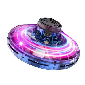 FlyNova UFO Fidget Spinner Uçan Aile İnteraktif Uçan Oyuncak Çocuk Yetişkin Stres Yayın İplik Komik parmak ucu Çocuklar Noel Hediyeler 06 Tops