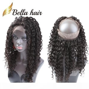 360 Lace Frontal Brazilian Virgin Hair 22*4*2 Lace Frontals Closures 360 Lace Band Frontal Closure Free Shipping Bella Hair