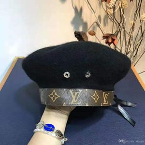Шляпа роскошная папа поло шляпы мужские и женские шляпы, шерсть регулируемые спортивные кривая модные береты, последние горячие высокое качество