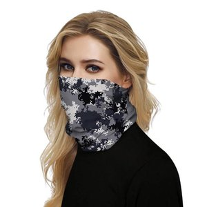 Outdoor Camouflage Cycling Muffler Bandana Sun Protection Breathable Fishing Scarves Sweat-absorbent Magic Scarf For Hiking