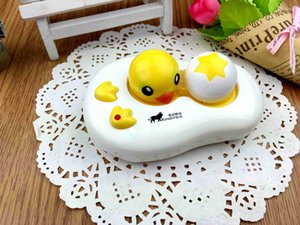 Limpiador de lentes de contacto Pequeño pato amarillo Limpiador ultrasónico Botellas Lentes de contacto Estuche para accesorios de gafas USB / batería Uso doble