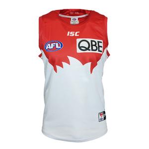 AFL Sydney Swans GUERNSEY 2019 MEN'S HOME JERSEY tamaño S-3XL nombres y números de impresión personalizados de calidad superior libre del envío