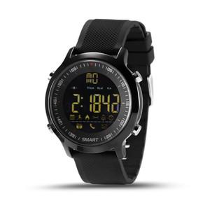 EX18 reloj elegante impermeable IP67 5ATM pasómetro inteligentes reloj de pulsera deportivo Actividades pulsera perseguidor elegante Bluetooth para IOS iPhone Android